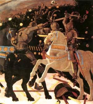Niccolò da Tolentino Leads the Florentine Troops (detail) 1450s