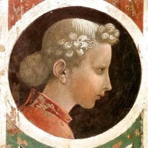 Paolo Uccello - Roundel with Head (2) c. 1435