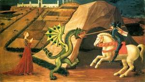 Paolo Uccello - St George and the Dragon