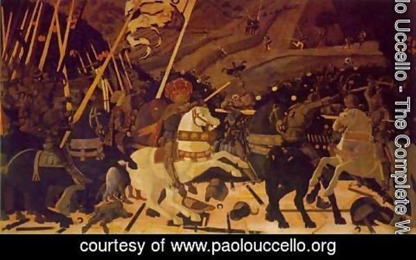 Paolo Uccello - The Rout of San Romano