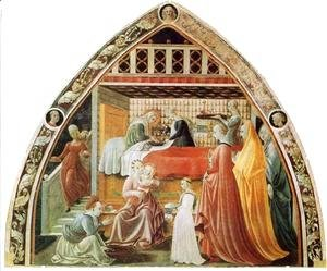 Paolo Uccello - Birth of the Virgin