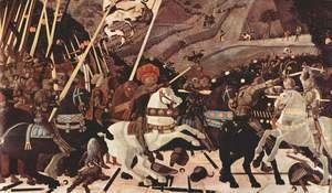 Paolo Uccello - The Battle of San Romano