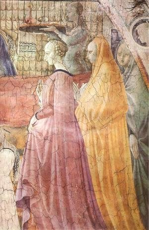 Paolo Uccello - Birth Of The Virgin (detail) 1435