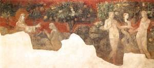 Paolo Uccello - Creation of Eve and Original Sin 1432-36
