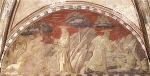 Paolo Uccello - Creation of the Animals and Creation of Adam 1432-36