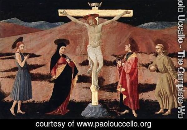 Paolo Uccello - Crucifixion 1460-65