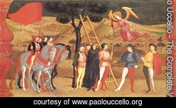 Paolo Uccello - Miracle of the Desecrated Host (Scene 4) 1465-69