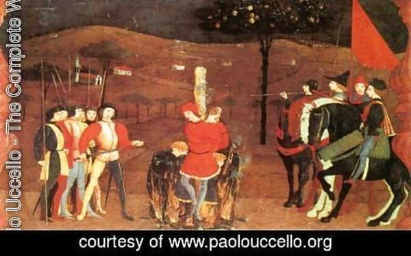 Paolo Uccello - Miracle of the Desecrated Host (Scene 5) 1465-69