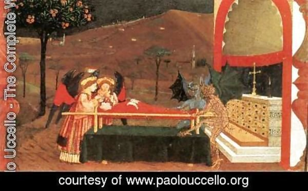 Paolo Uccello - Miracle of the Desecrated Host (Scene 6) 1465-69