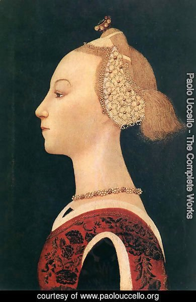 Paolo Uccello - Portrait of a Lady 1450s