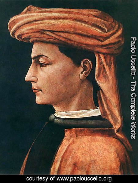 Paolo Uccello - Portrait of a Young Man 1450s
