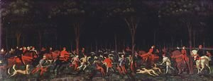 Paolo Uccello - The Hunt in the Forest 1460s