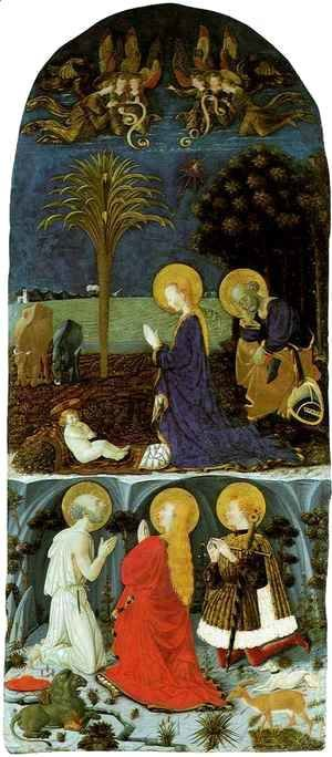 Adoration of the Child with Saint Jerome, Saint Mary Magdalene and Saint Eustache