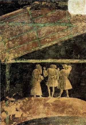 Paolo Uccello - Adoration of the Child, detail