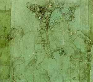 Paolo Uccello - Study of a Knight