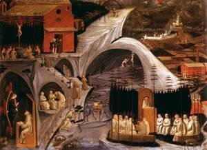 Paolo Uccello - Scenes from the Life of the Holy Hermits