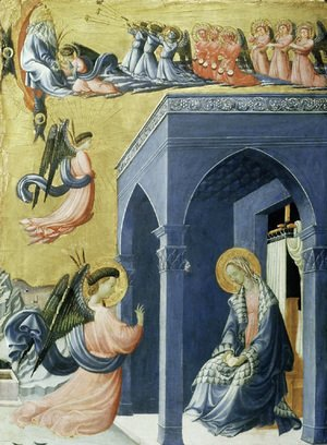 Paolo Uccello - The Annunciation